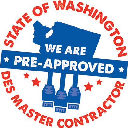 CTS is a State of Washington DES Master Contractor